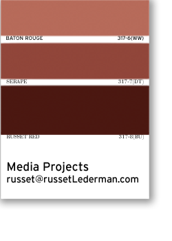 Email to Russet Lederman